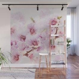 Blossoms greet spring Wall Mural