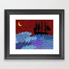 Anchors Away Framed Art Print
