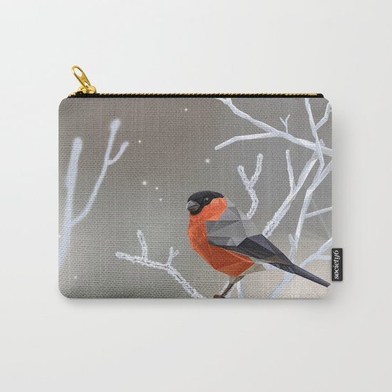 Safe transitions! // (polygonal bull-finch) Carry-All Pouch