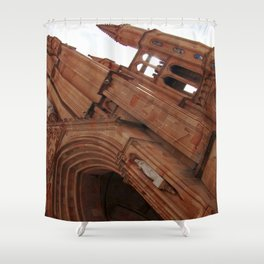 Fatima  church Shower Curtain