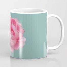 Rose on mint Coffee Mug