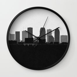City Skylines: Tampa Wall Clock