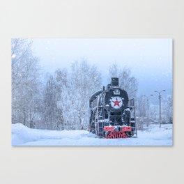 Time train Canvas Print