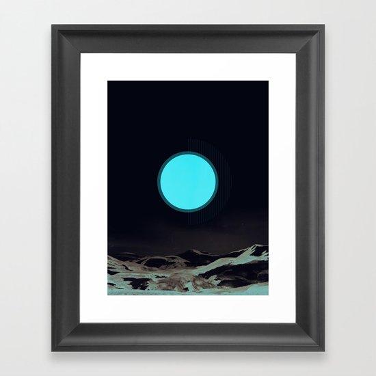 Vintage Iceland Framed Art Print