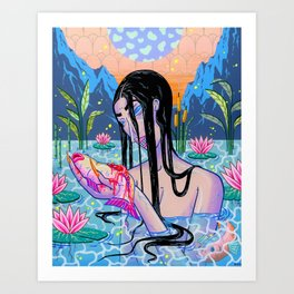The Contemplation Art Print