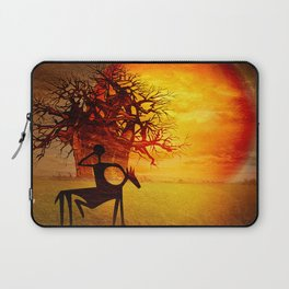 Visions of fire Laptop Sleeve