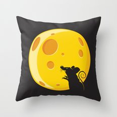 Bloodmouse Throw Pillow