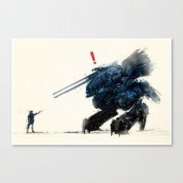 AHHH! A SNAKE! Canvas Print