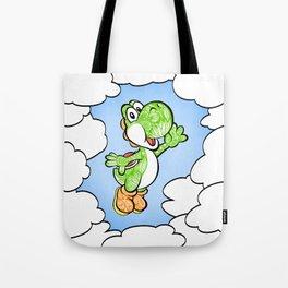Yoshi in the sky !  Tote Bag
