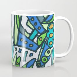 Feel This Real Forever (green) Coffee Mug