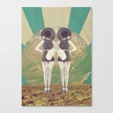 UNIVERSOS PARALELOS 005 Canvas Print