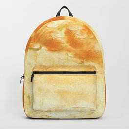 Blond abstract watercolor Backpack