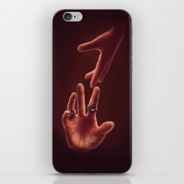 Don't Let Go iPhone Skin