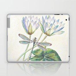 lotus and dragonfly Laptop & iPad Skin