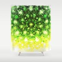 kiwi Shower Curtains featuring Kiwi by Patrick Yan