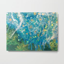 Earth and Water Metal Print