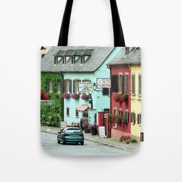 Pastel Town : Alsace Tote Bag