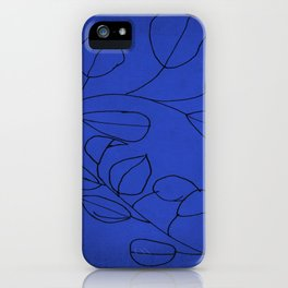 leaves study iPhone Case