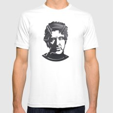 Al Pacino Mens Fitted Tee White MEDIUM