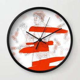 meltdown Wall Clock
