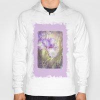 iris Hoodies featuring Iris by Kimberley Britt