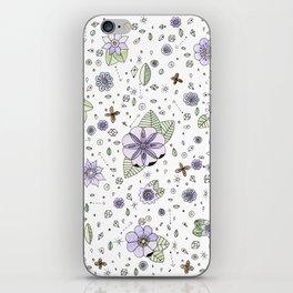 Violetas iPhone Skin