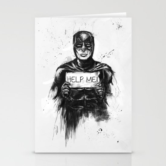 help me! Stationery Cards