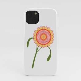 Spring Yellow, Happy dance, Flower iPhone Case