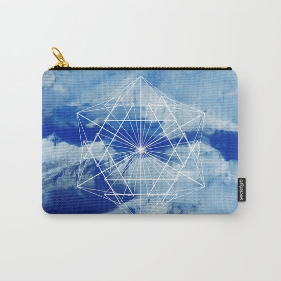 Mountains, Clouds and Geometry Carry-All Pouch