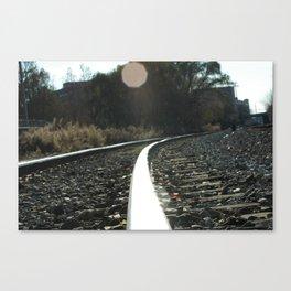 TrackIt Canvas Print