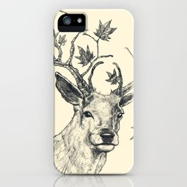 From Fall to Rise iPhone Case
