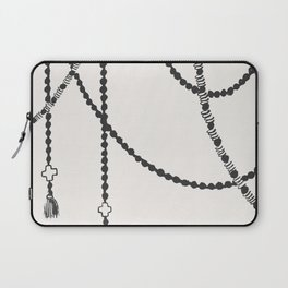 Beaded Garland With Tassels Laptop Sleeve