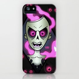 A Ghastly Ghoul iPhone Case