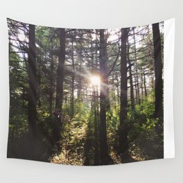 Forest Sun Wall Tapestry