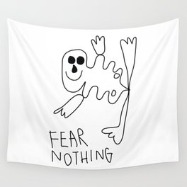 Fear Nothing Wall Tapestry
