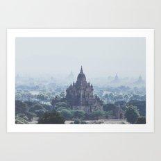 Bagan II Art Print