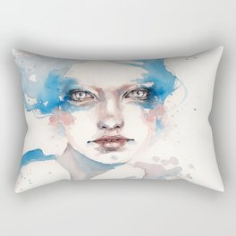 In The Shallows (Water Nymph) Rectangular Pillow