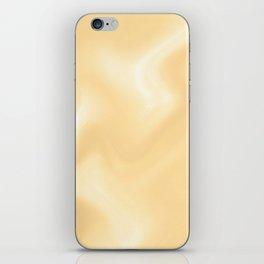 Snow Art 3 - Orange iPhone Skin