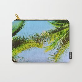 Palm Trees Tropical Photography Carry-All Pouch