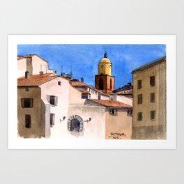 St. Tropez Art Print