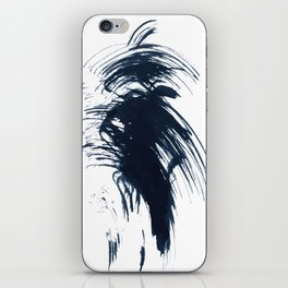 Abstract ink splashes iPhone Skin