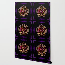 Dragon Pentacle Fantasy Art Wallpaper