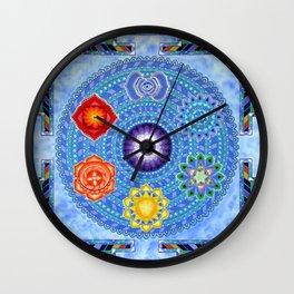 Chakra Vision Wall Clock