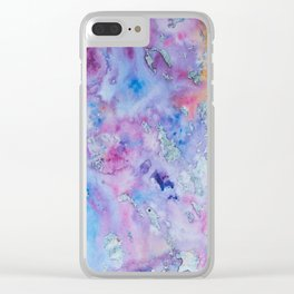 Dream in Color Clear iPhone Case