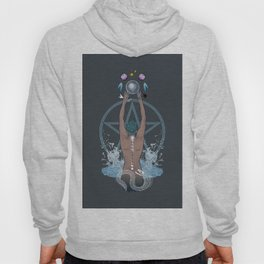 Sea Witch - Moon Phases Hoody