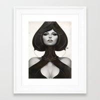 artgerm Framed Art Prints featuring Pepper Spade by Artgerm™