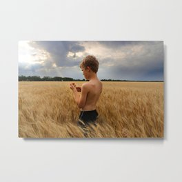 Almost Harvest Time Metal Print