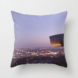 Angel City Lights, L.A. at Night, No. 3 Throw Pillow