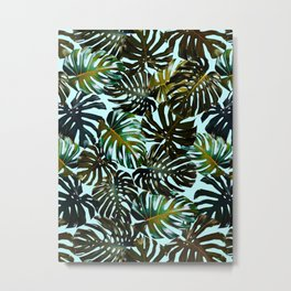 TROPICAL GARDEN XI Metal Print