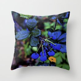 Exotic fruit and rich. Throw Pillow